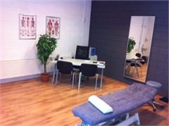 Fysiotherapie ruimte