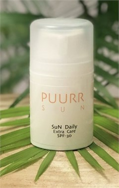 SUN daily SPF30 12,95 euro